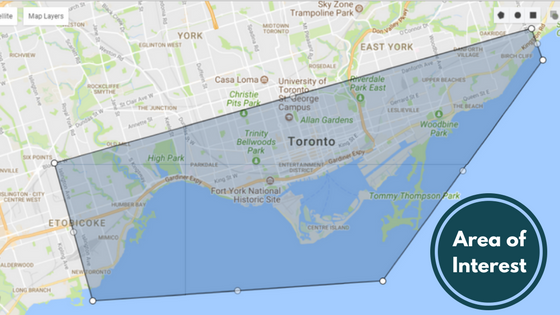 Toronto condo area of interest