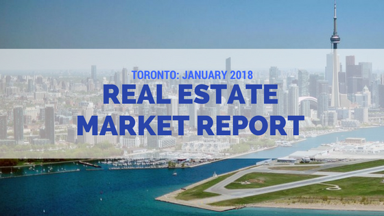 Toronto real estate news January 2018
