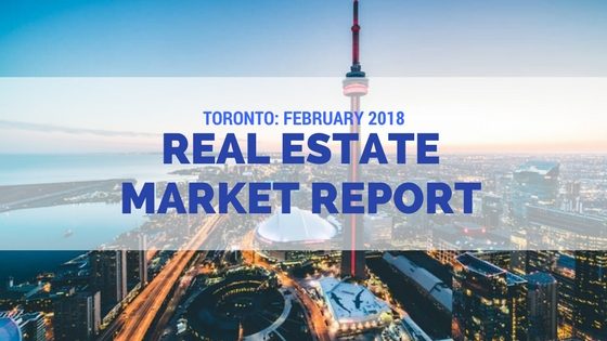 toronto real estate market report February 2018