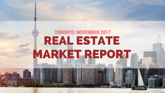 toronto november 2017 real estate market report