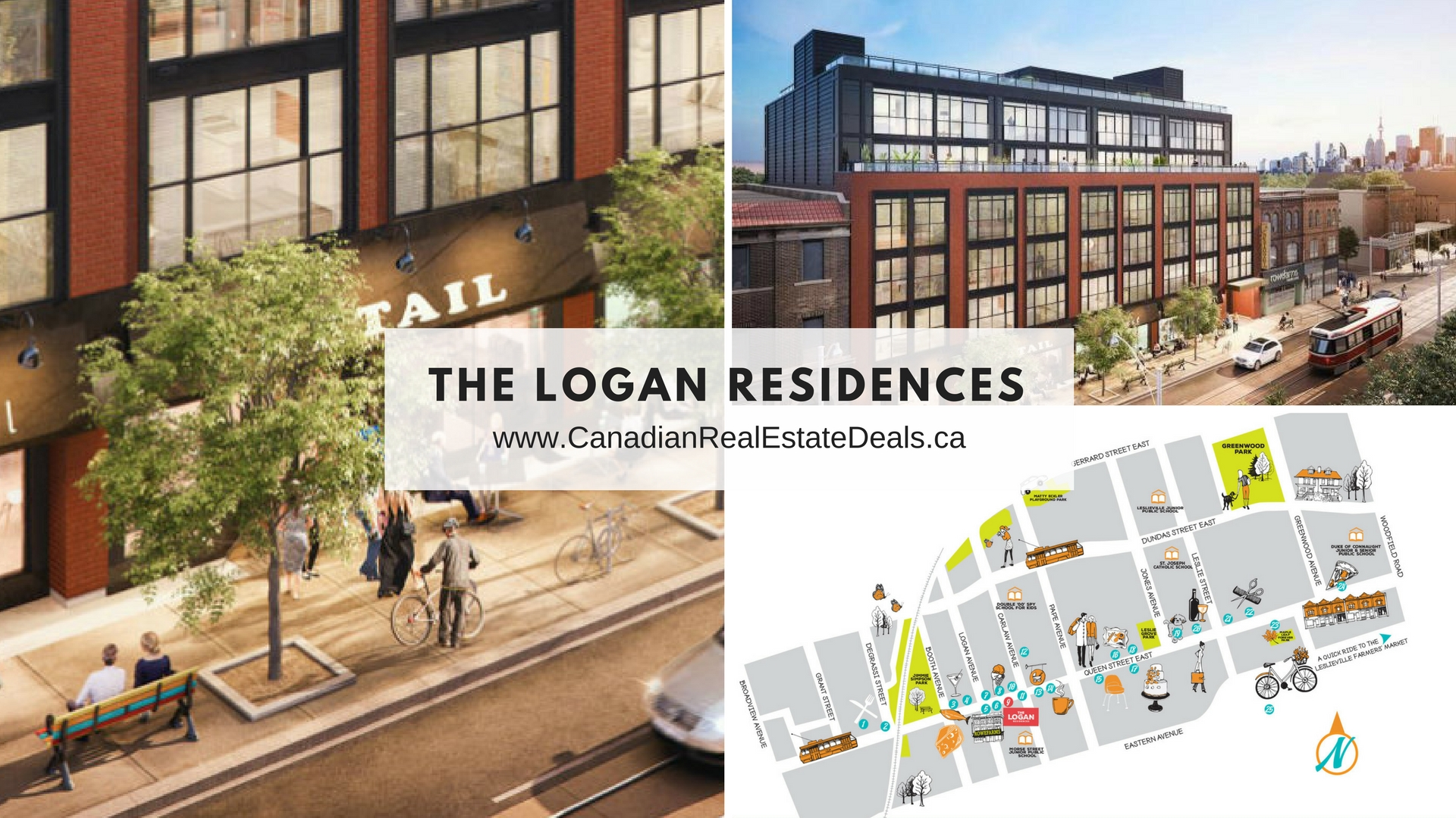 Toronto new condos - logan residences