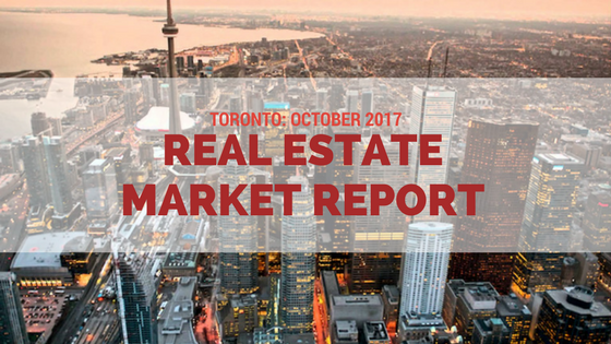Toronto real estate market report October 2017 by Ingrid Menninga
