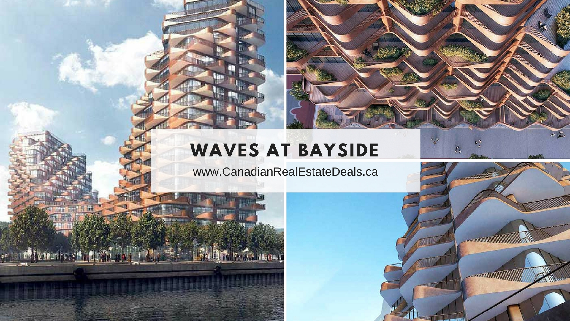 Toronto new condos - waves at bayside